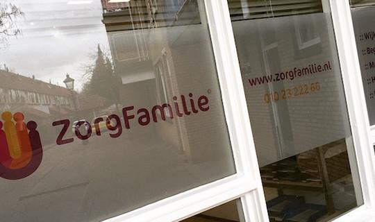 Buitenreclame_Zorgfamilie